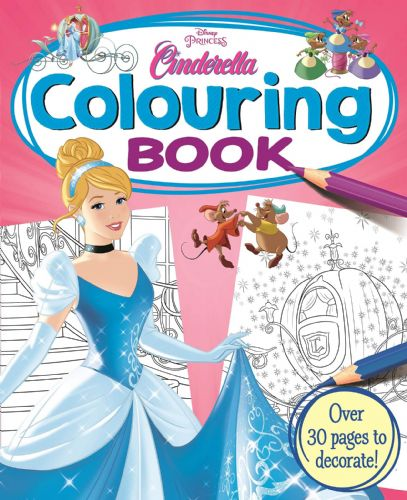 Disney Princess - Cinderella: Colouring Book